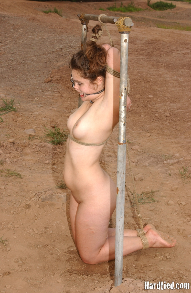 tied in ropes Porn